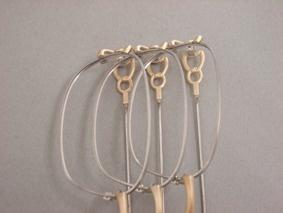 チタンに銅製ロストワックスを接合
