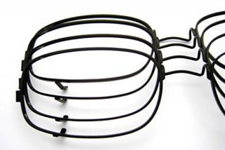 眼鏡(塗装下地めっきとして使用)
