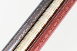 ブラスト模様と塗装、メッキ