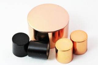 化粧品キャップのカラー化