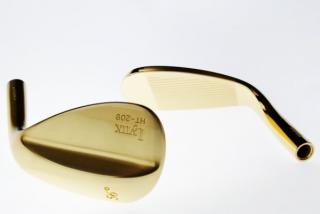 24金色メッキ(ゴルフヘッド・装飾用)